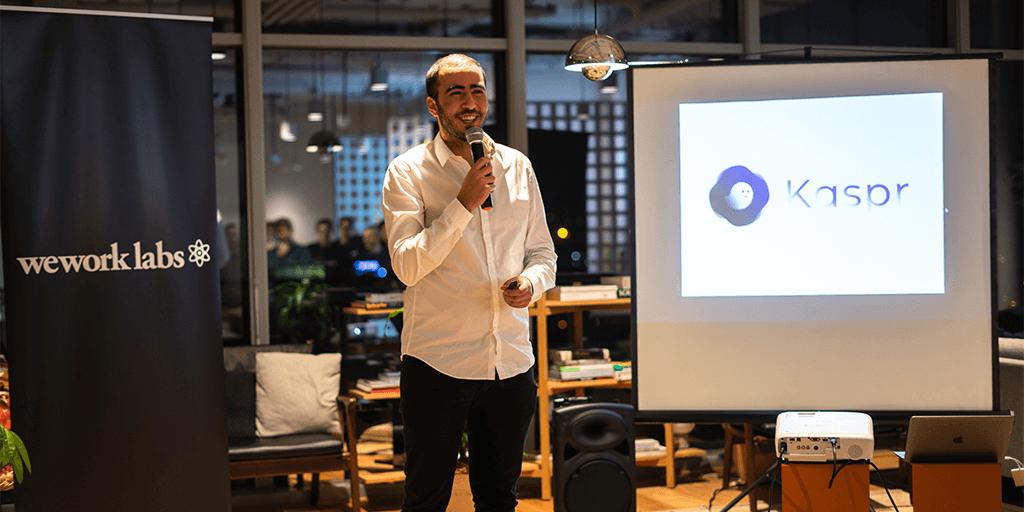Startups Pitch Kaspr