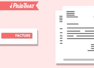 facture-pro-forma-flat-design